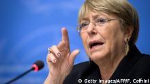 Schweiz Genf | UN-Hochkommissarin | Michelle Bachelet