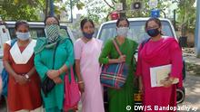 Health worker West Bengal India Description: The health workers of Howrah General Hospital on their way to collect traces of Corona. Keywords: Corona; Lock down; Health Crisis, Kolkata, West Bengal, India Copyright: Sirsho Bandopadhyay