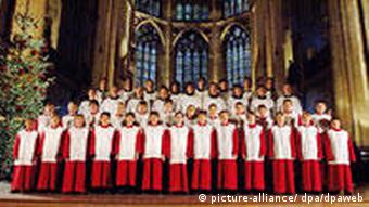 The Regensburger Domspatzen choir singer