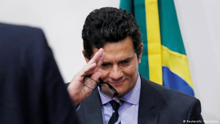 Brasilien Brasilia | Sergio Moro, Justizminister | Rücktritt (Reuters/U. Marcelino)