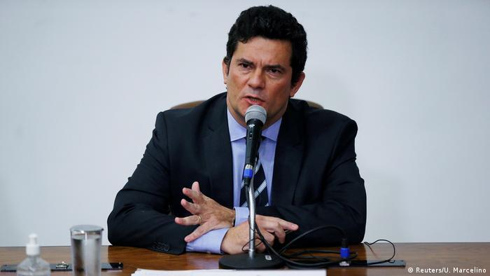 Ex-ministro Sérgio Moro em coletiva de imprensa (24/04/2020)