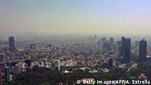 Südamerika Coronavirus Rückgang Umweltverschmutzung Smog in Mexico City