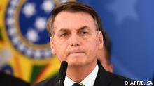 Brasilien PK Coronavirus Jair Bolsonaro