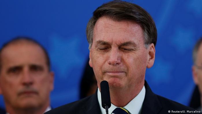 Brasilien PK Coronavirus Jair Bolsonaro (Reuters/U. Marcelino)