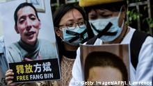 Hongkong | Protest | Journalist Fang Bin