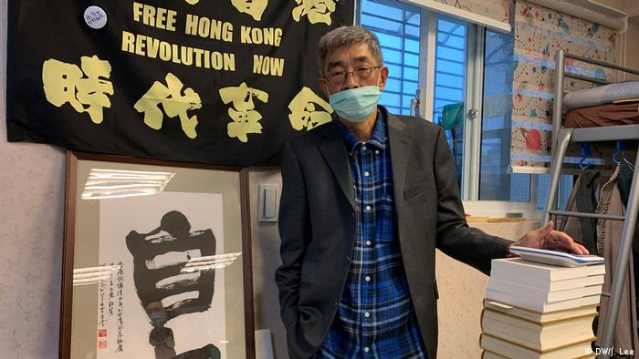Hong Kong bookseller Lam Wing-kee reopened Causeway Bay Books in Taipei on 25 April 2020