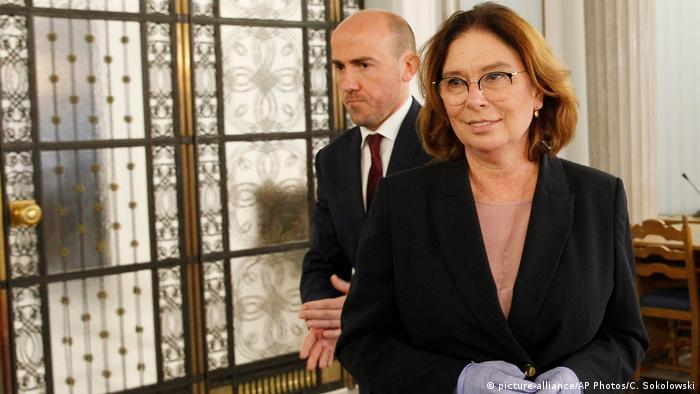 Polish opposition leader Malgorzata Kidawa-Blonska