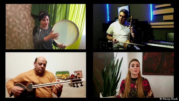 Iranische Musiker unter Quarantäne