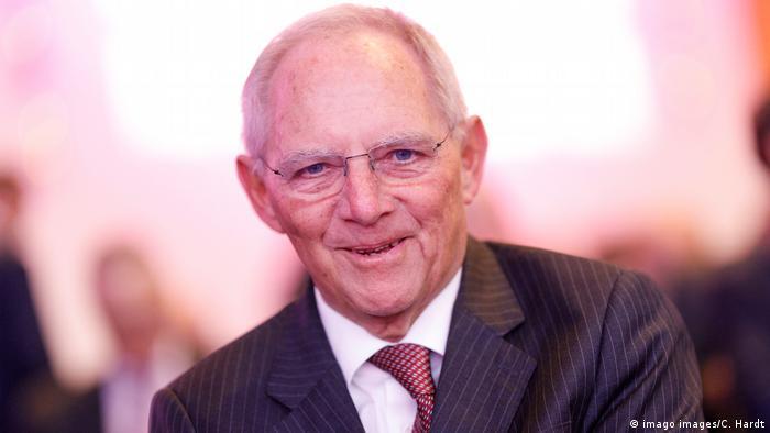 Former German Finance Minister Wolfgang Schäuble (imago images/C. Hardt)