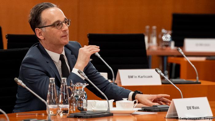 Deutschland Berlin | Coronavirus | Außenminister Heiko Maas (Getty Images/F. Singer)