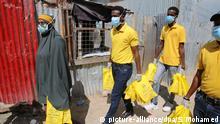 Somalia Mogadishu | Coronavirus | Flüchtlingslager