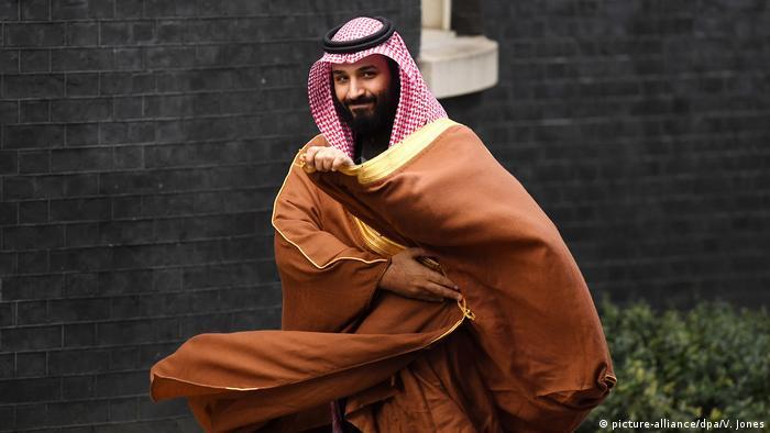 Saudi-Arabien 2018 | Kronprinz Mohammed bin Salman (picture-alliance/dpa/V. Jones)