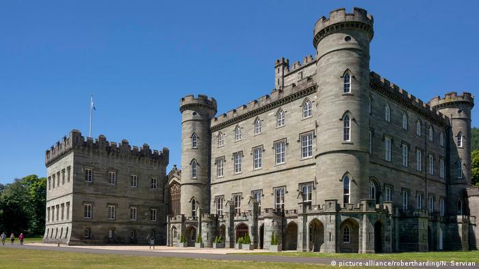 Taymouth Castle in Kenmore, Scotland