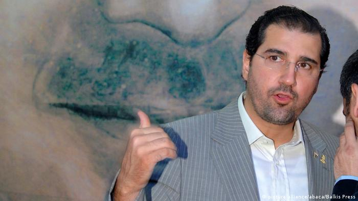 Syrian businessman Rami Makhlouf, a cousin of Bashar Assad Geschäftsmann (picture-alliance/abaca/Balkis Press)