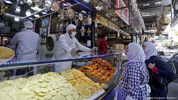 Ramadan Syrien Damaskus Markt (Getty Images/L. Beshara)