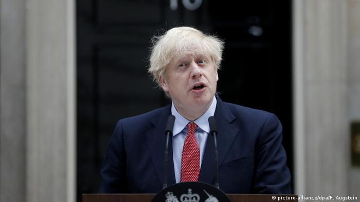 Großbritannien Boris Johnson (picture-alliance/dpa/F. Augstein)