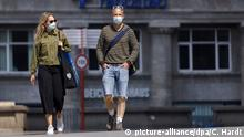 Deutschland Maskenpflicht Mundschutz Mund-Nasen-Schutz
