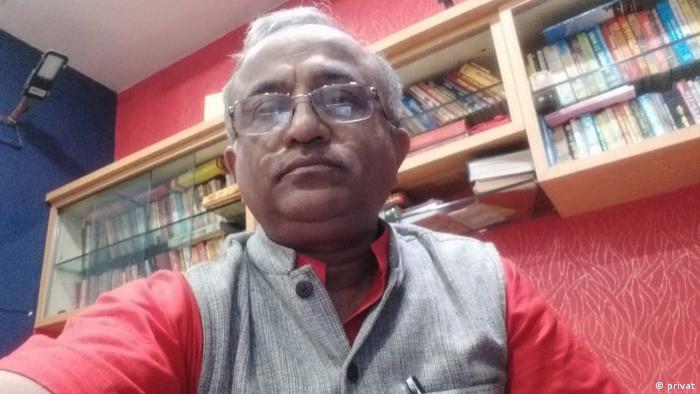 Indien Pandit Priya Sharan Tripathi