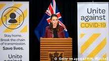 Neuseeland | Coronavirus | Premierministerin Jacinda Ardern