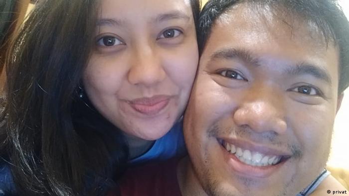 Indonesien Jakarta | Coronavirus | Yesika and Michael