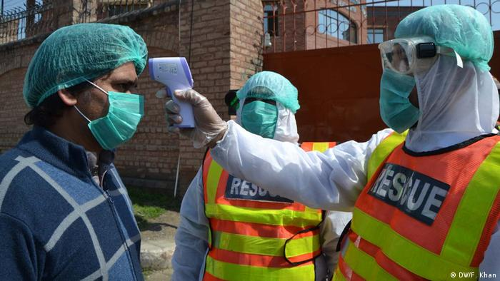 Pakistan Peschawar Coronavirus Lockdown