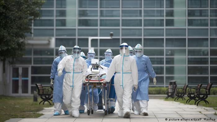 China Wuhan Krankenhaus