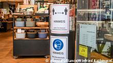 Deutschland Freiburg   Coronavirus   Wiedereröffnung Geschäft