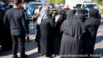 Remmo aşireti lideri İssa Remmo'nun annesinin cenazesinde geniş güvenlik önlemleri alınmıştı