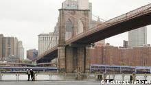 USA New York | Coronavirus | Brooklyn Bridge