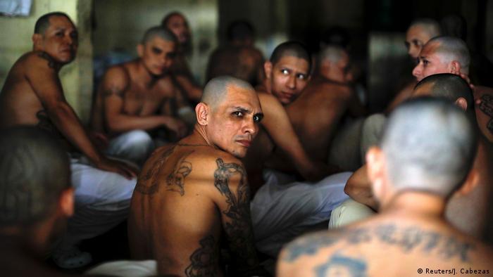 inhaftierte Gangmitglieder in El Salvador (Reuters/J. Cabezas)