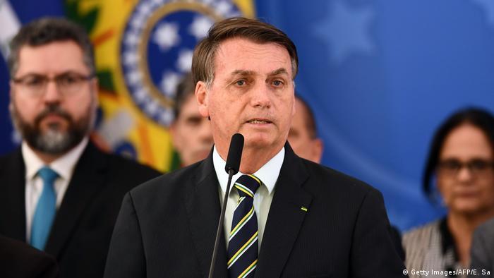 Brasilien | Bolsonaro | Rücktritt Sergio Moro (Foto: Getty Images/AFP/E. Sa)