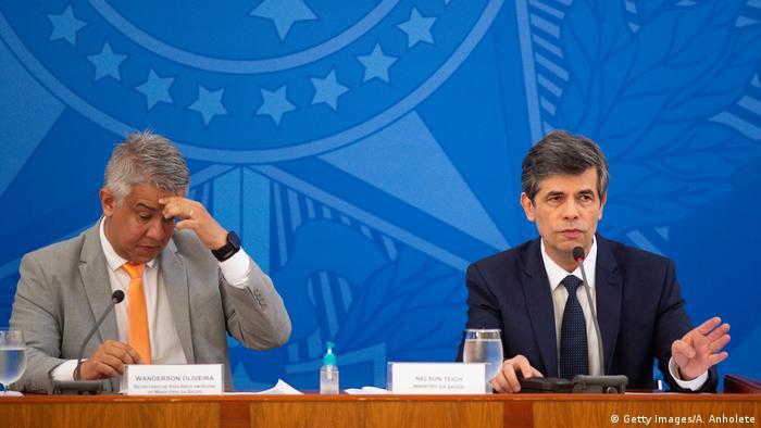 Brasilien | Neuer Gesundheitsminister Nelson Teich (Getty Images/A. Anholete)