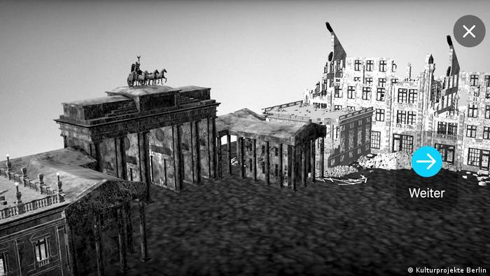 Сайт цифровой выставки На Берлин - 75 лет после окончания войны