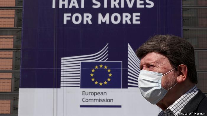 Belgien Brüssel Coronavirus European Union