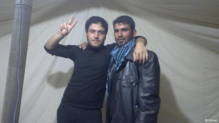 خالد الجزار - لاجئ سوري