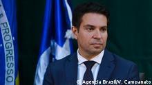 Brasilien Alexandre Ramagem Rodrigues, neue Präsident der Bundespolizei