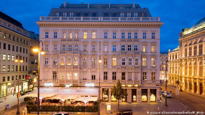 Hotel Sacher in Wien, Österreich (picture-alliance/ImageBroker/W. Wirth)
