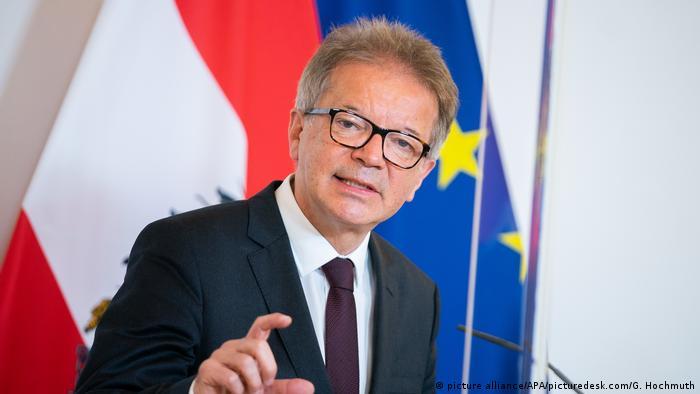 Österreich Coronavirus PK Gesundheitsminister Rudolf Anschober