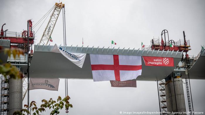 28. April 2020: Der Rohbau der neuen Genua-Brücke ist abgeschlossen