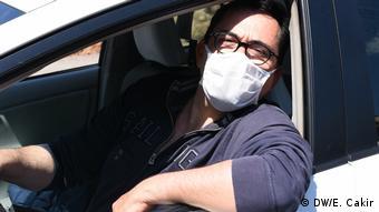 Italien Rom   Coronavirus   Reportage Esma Cakir   Claudio
