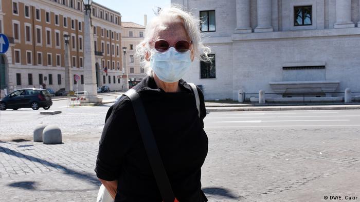 Irene Farinelli sieht seit dem 11 März ihre Kinder und Enkel nicht