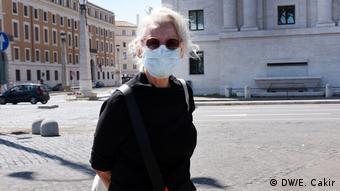 Italien Rom   Coronavirus   Reportage Esma Cakir   Irene Farinelli