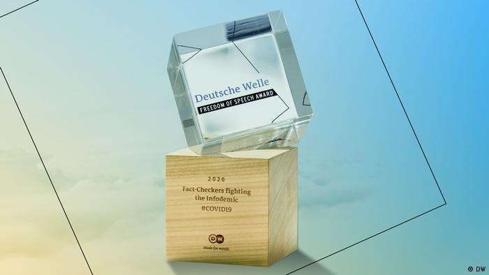 DW Freedom of Speech Award 2020 - ACHTUNG SPERRFRIST!