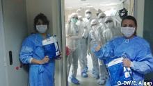 Türkei Coronavirus Krankenschwestern und Ärzte