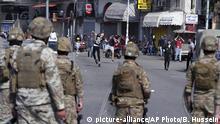 Libanon Tripolis | Unruhen während Anti-Regierungsprotesten