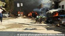 Syrien YPG/PKK Anschlag in Afrin