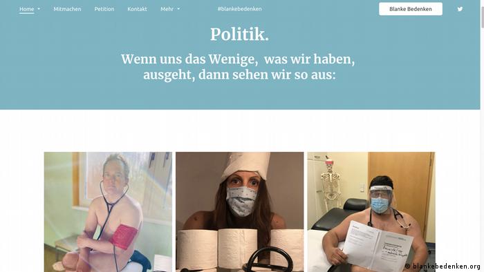 Deutschland Petition Blanke Bedenken