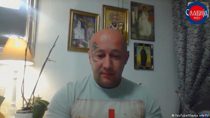 YouTube Screenshot | Goran Pantelic - serbischer Staatsbürger soll serbischen Präsidenten über soziale Netzwerke bedroht haben