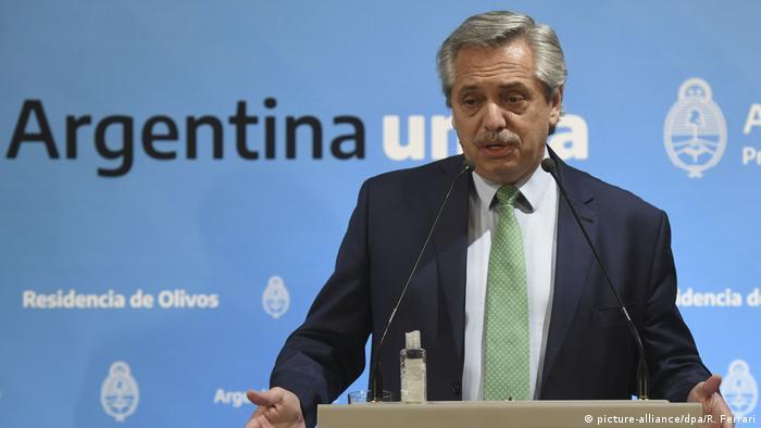 Alberto Fernández, presidente de Argentina, negocia nuevamente con los acreedores.