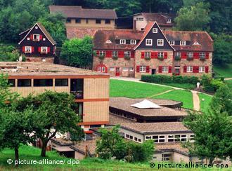 El colegio Odenwald, en Heppenheim, en el sur de Alemania.